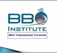 BBO Teleseminar Formula